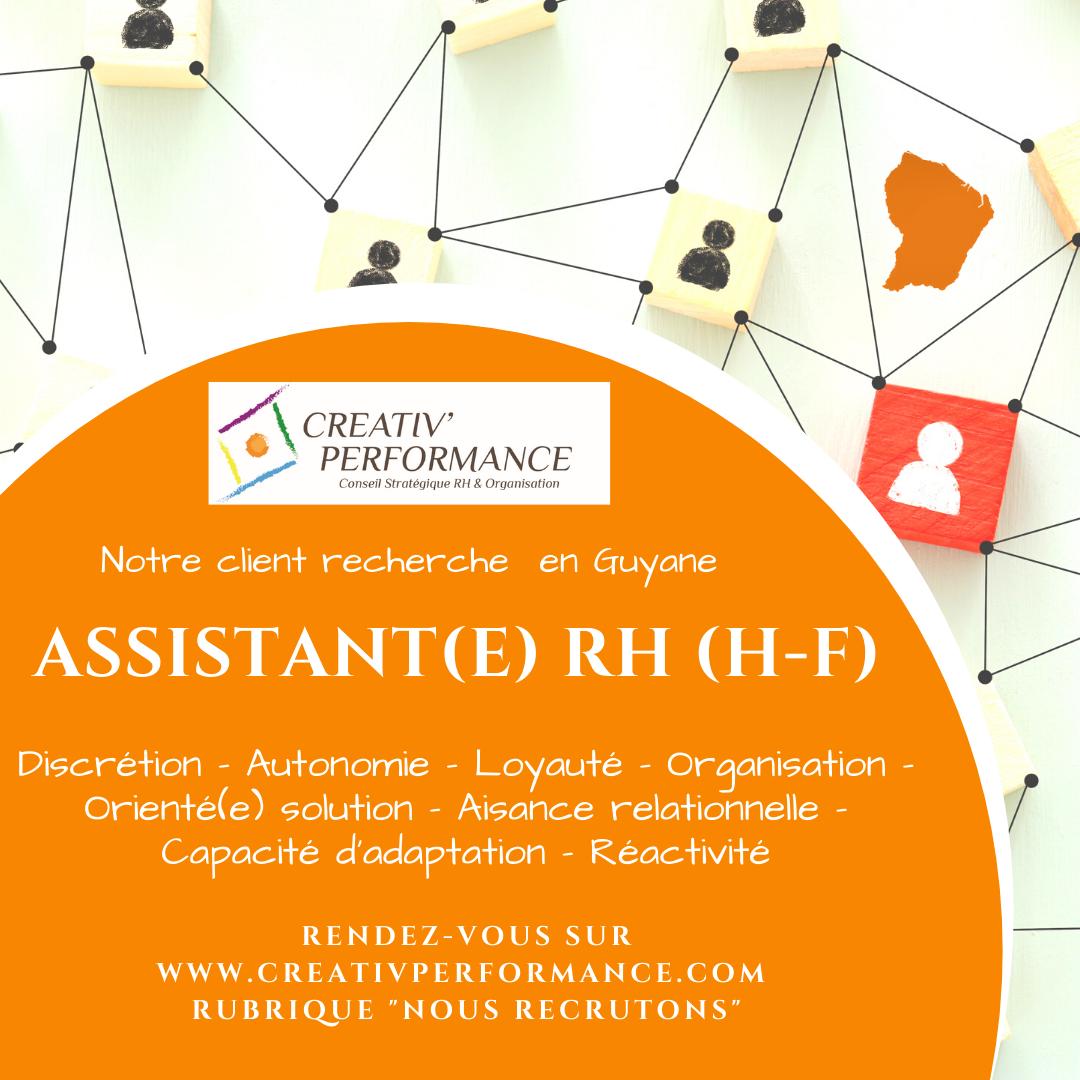 Assistant(e) RH GUYANE