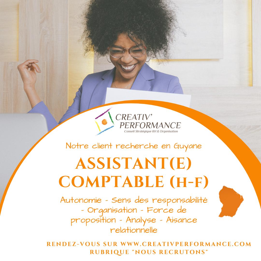 Assistant(e) comptable h-f
